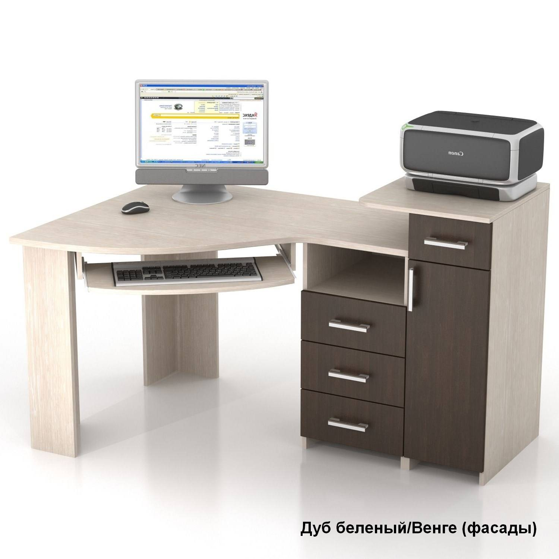 Угловой компьютерный стол кс-16у сапсан купить в москве - ме.