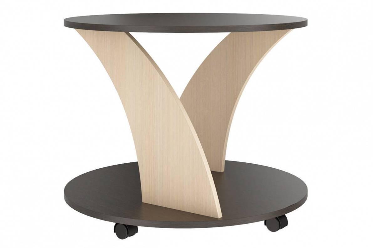 Круглый стол на колесиках своими руками 12