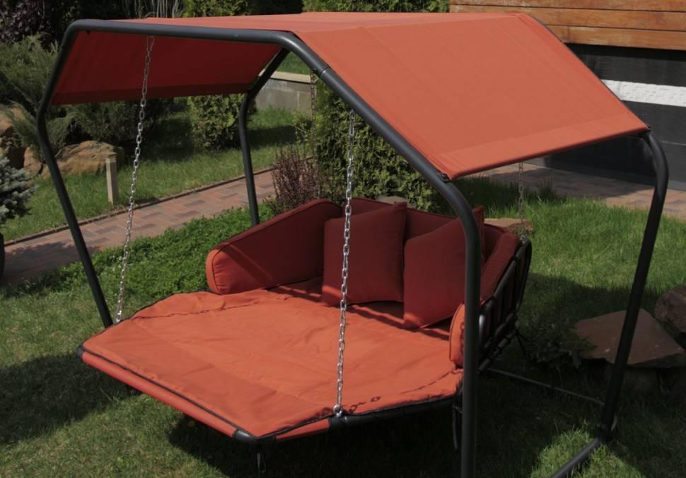 Дачный диван качели