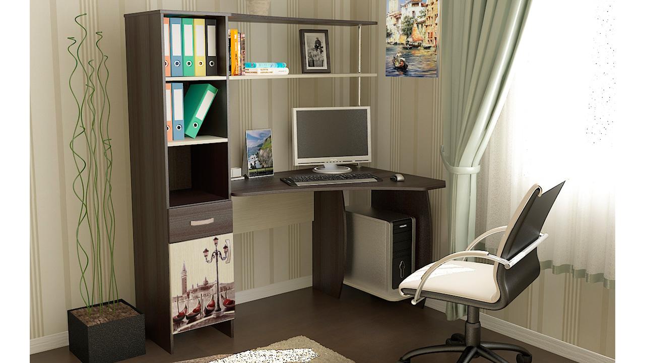 Компьютерный стол триЯ профи (м) - купить в москве по низкой.