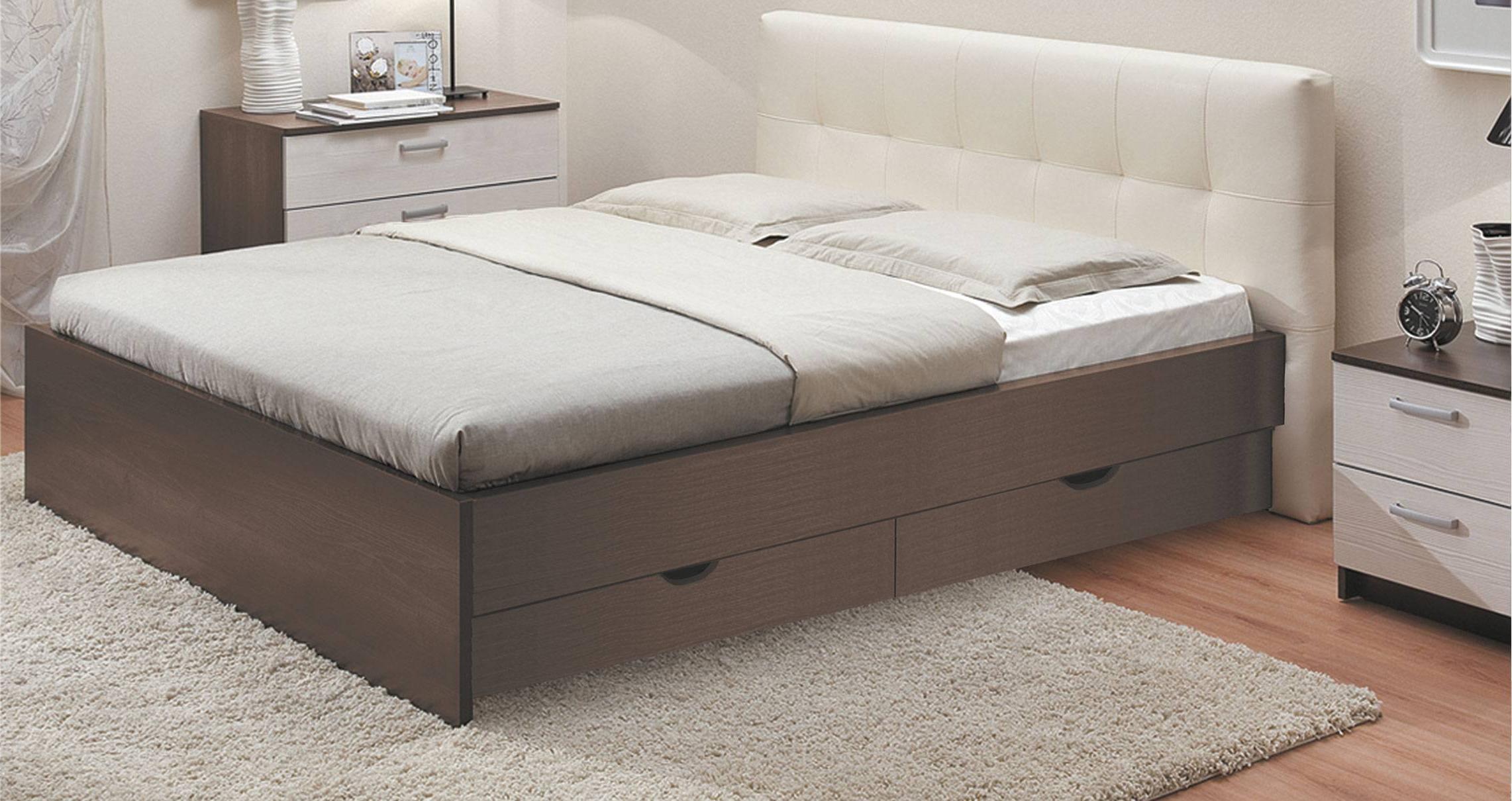 нем кровати двуспальные с ящиками для белья фото простых девушек