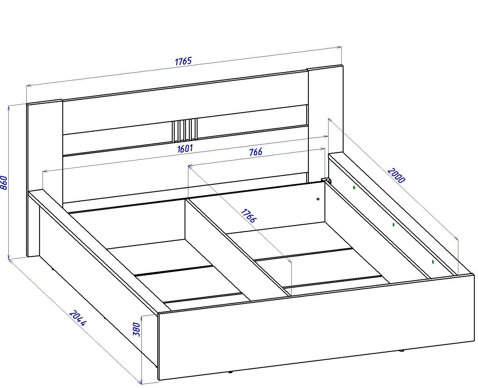 Двуспальная кровать с подъемным механизмом своими руками чертежи фото