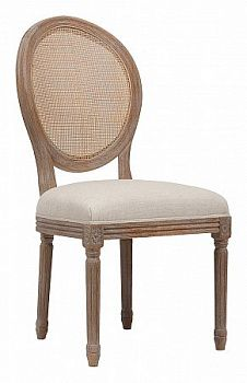 Стул DG-Home Vintage French Round Cane Back