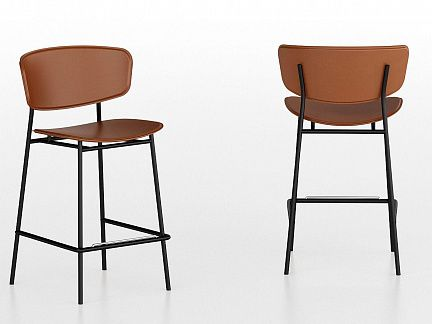 Стул барный DE CS/1864-LH  FIFTIES (Calligaris)